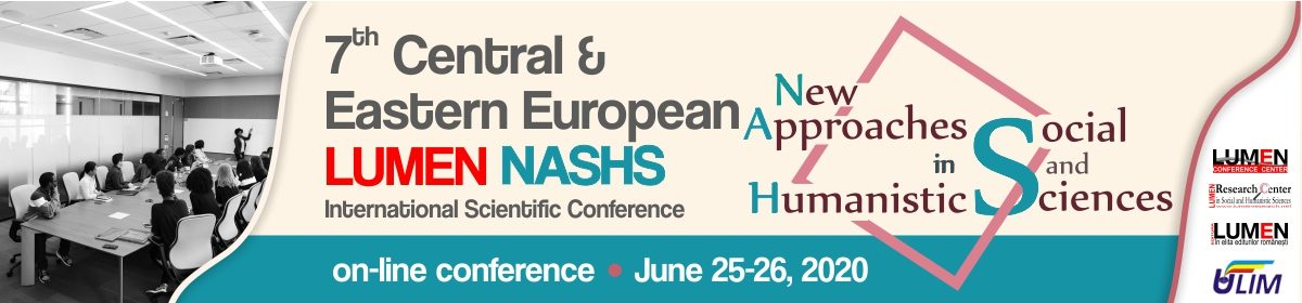 7th Central and Eastern European LUMEN International Scientific Conference NASHS2020